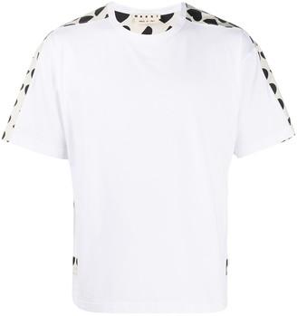Marni heart-print cotton T-shirt