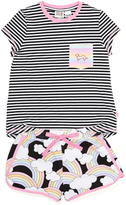 Peter Alexander peteralexander Girls Rainbows Pj Set
