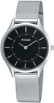 Pulsar Womens Stainless Steel Mesh Watch PTA501X