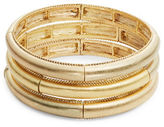 Nanette Lepore Goldtone Stretch Bracelet Set