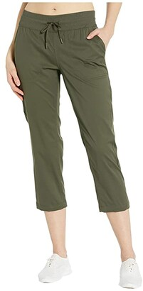 The North Face Aphrodite Motion Capris (New Taupe Green) Women's Casual Pants