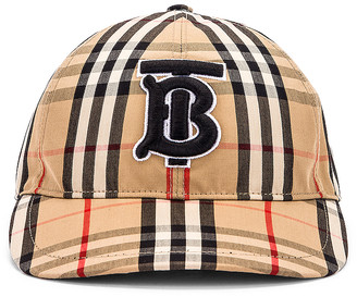 Burberry Vintage Check Baseball Cap in Archive Beige Check | FWRD
