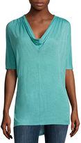 Liz Claiborne Dolman-Sleeve Tunic Top