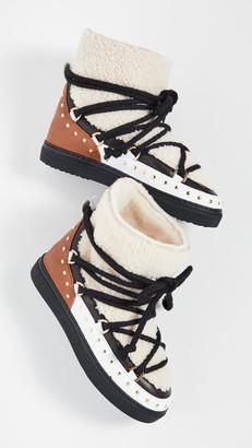 INUIKII Curly Rock Shearling Sneakers