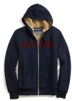 Tommy Hilfiger Full Zip Sherpa Lined Hoodie