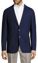 Corneliani Button-Front Wool Jacket