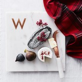 Williams-Sonoma Williams Sonoma Marble & Copper Monogram Boards
