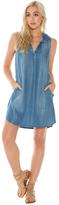 Bella Dahl Sleeveless Stripe A-line Dress