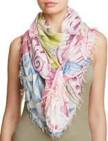 Fraas Painted Geo Scarf