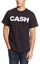 Zion Rootswear Men's Johnny Cash Block Front Print T-Shirt