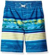 iXtreme Toddler Boys' Waves Swim Trunk
