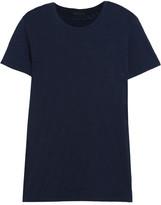 ATM Anthony Thomas Melillo Schoolboy Slub Cotton-jersey T-shirt - Navy