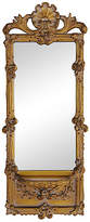 One Kings Lane Vintage Italian Ornate Scrolled Mirror w/Shelf