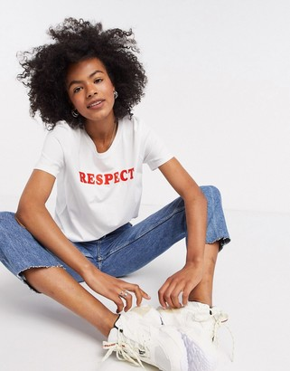 InWear Respect t-shirt in white