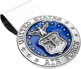 Cufflinks Inc. Men's Pewter U.S. Airforce Money Clip