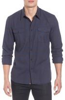 Billy Reid Men's Graham Standard Fit Check Sport Shirt