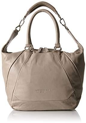 Liebeskind Berlin Women's Bambesa Vintag Top Handle Handbag, Elephant Grey, fits All