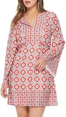 Aryeh Concentric Kimono Tunic/dress