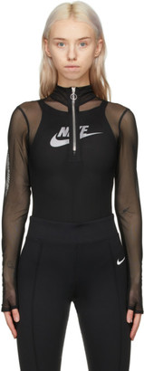 Nike Black NSW Icon Clash Bodysuit