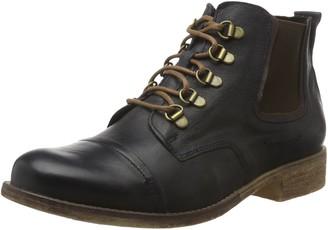 Josef Seibel Women Ankle Boots Sienna 09 Ladies lace Ankle Boot Boots Chukka Boot Half Boots Lace Up Bootie Zipper