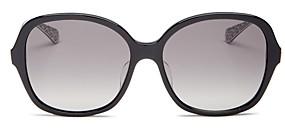Kate Spade Women's Kaiya Polarized Square Sunglasses, 57mm