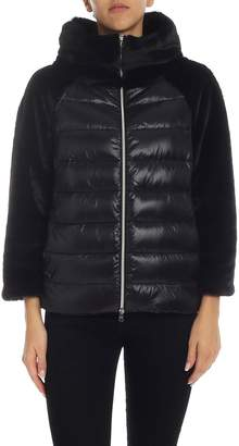 Herno Down Jacket With Eco-fur Detail