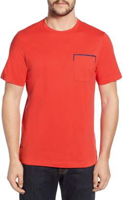 Bugatchi Regular Fit Pocket T-Shirt