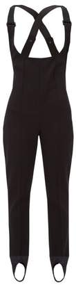 Moncler Tute Stirrup-ankle All-in-one Ski Suit - Womens - Black