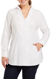 Foxcroft Selma Stretch Tunic Shirt