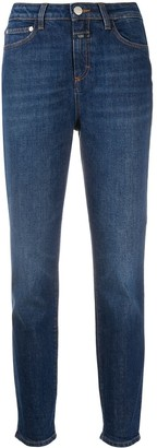 Closed Denim Straight Leg Jeans