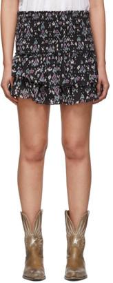 Etoile Isabel Marant Navy Frinley Shorts