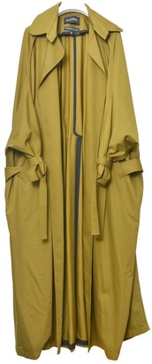 Situationist Green Synthetic Coats
