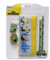 Despicable Me Childrens/Kids Official Minions 5 Piece Stationery Set