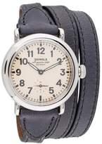 Shinola The Runwell Triple Wrap Watch