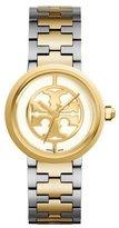 Tory Burch Two-Tone Reva Bracelet Strap Watch