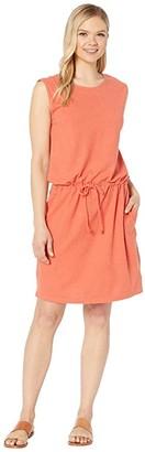 tentree Icefall Dress (Burnt Sienna Orange) Women's Dress