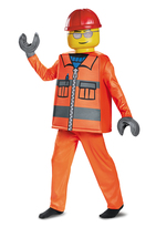 Disguise LEGO® Construction Worker Deluxe-Up Set - Kids