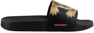 DSQUARED2 Tiger Slide Sandals