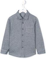 Il Gufo grid print shirt