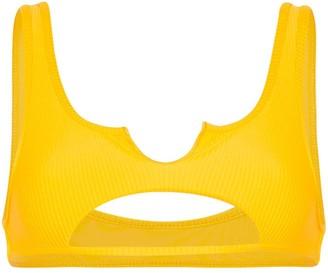 Frankie's Bikinis Cole cut-out bikini top