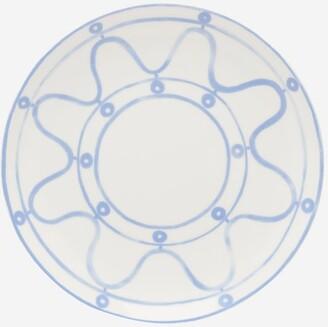 Themis Z - Serenity Porcelain Dinner Plate - Blue White