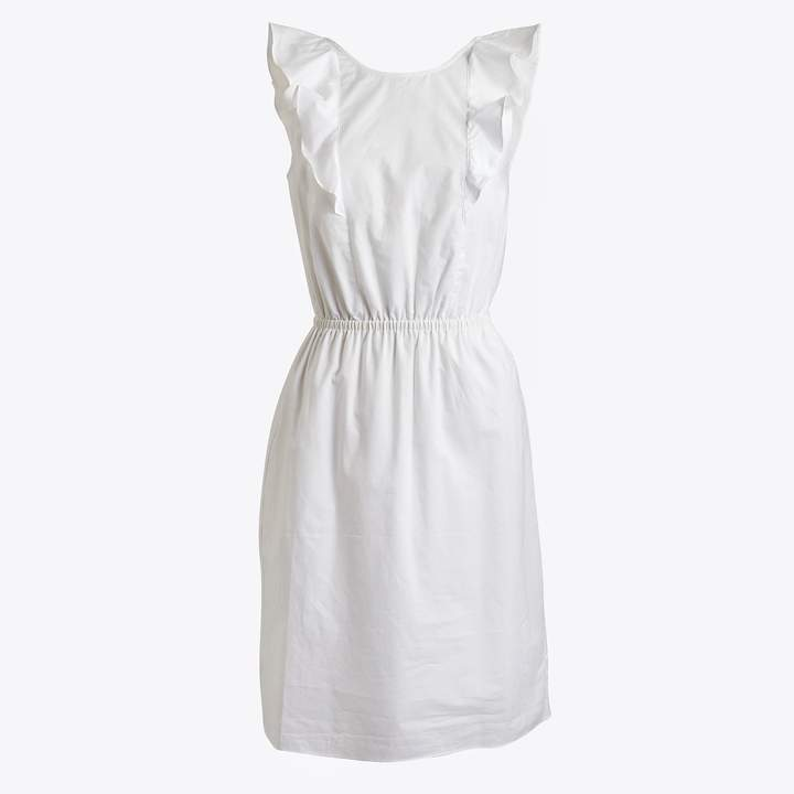 J.Crew Ruffle-shoulder dress