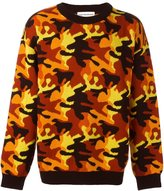Gosha Rubchinskiy camouflage sweater - men - Acrylic/Wool - S