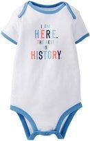 Carter's Slogan Bodysuit (Baby) - White-9 Months
