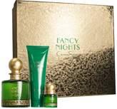 FANCY NIGHTS by Jessica Simpson Gift Set for WOMEN: EAU DE PARFUM SPRAY 3.4 OZ & BODY LOTION 3 OZ & EAU DE PARFUM SPRAY .25 OZ MINI