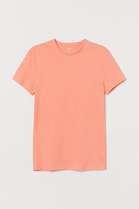 H&M Crew-neck Muscle Fit T-shirt