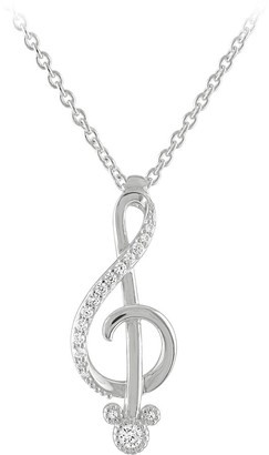 Disney Mickey Mouse Music Necklace by Rebecca Hook