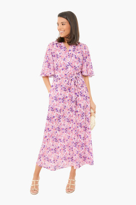 Pink Floral Betty Dress