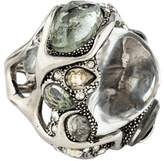 Alexis Bittar Crystal & Lucite Ring