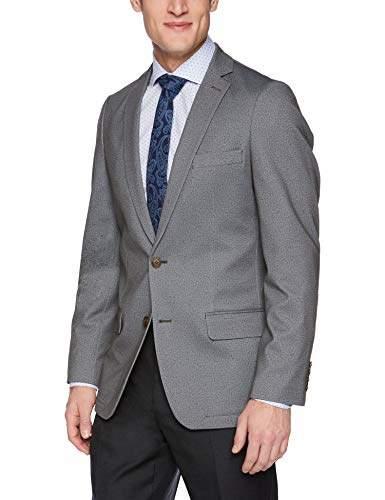 Haggar Men's Knit Stretch Slim Fit Solid Blazer